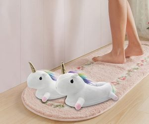 IAQUE Chaussons Licorne