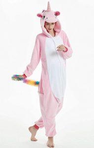 JXUFUFOO Pyjama Adulte Unisexe Licorne