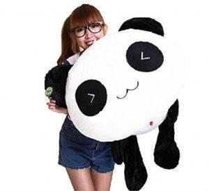 Panda Peluche YunNasi 70cm - Coussin Décoratif