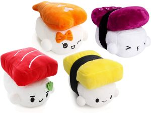 Cotton Food Sushi en Peluche - Décon Kawaii